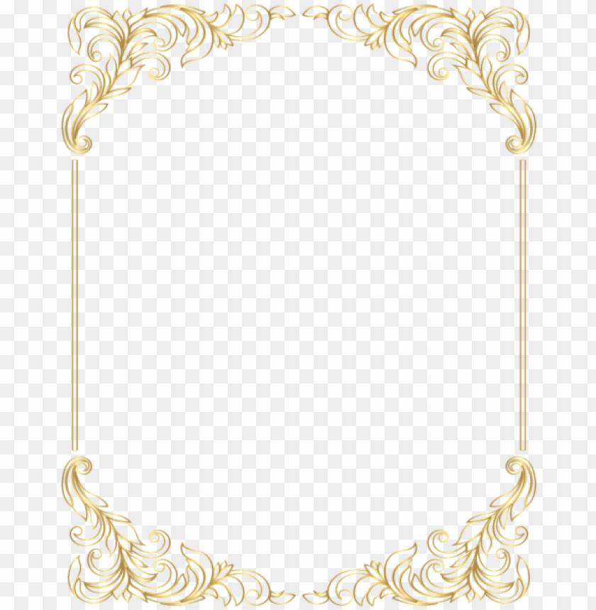 old frame border png - modern page border designs PNG image