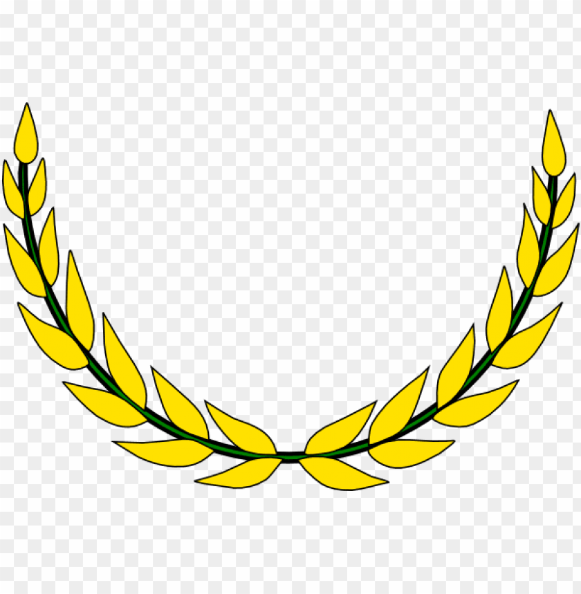 free PNG old vector laurel wreath - olive leaf circle logo PNG image with transparent background PNG images transparent