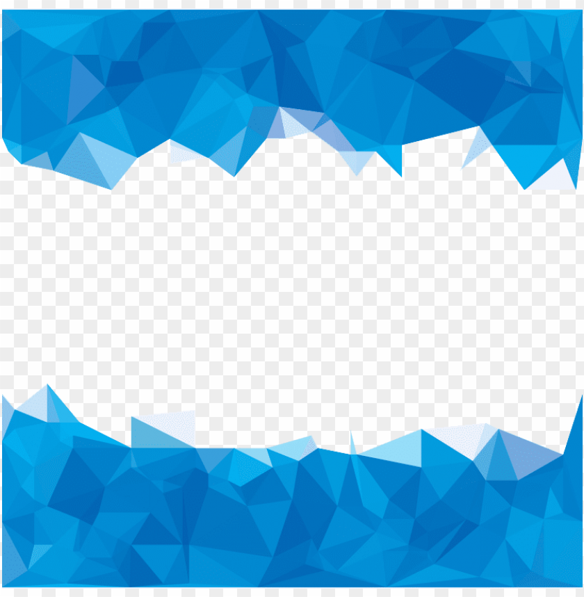 Olygon Abstraction Sky Polygons Abstract Background Blue