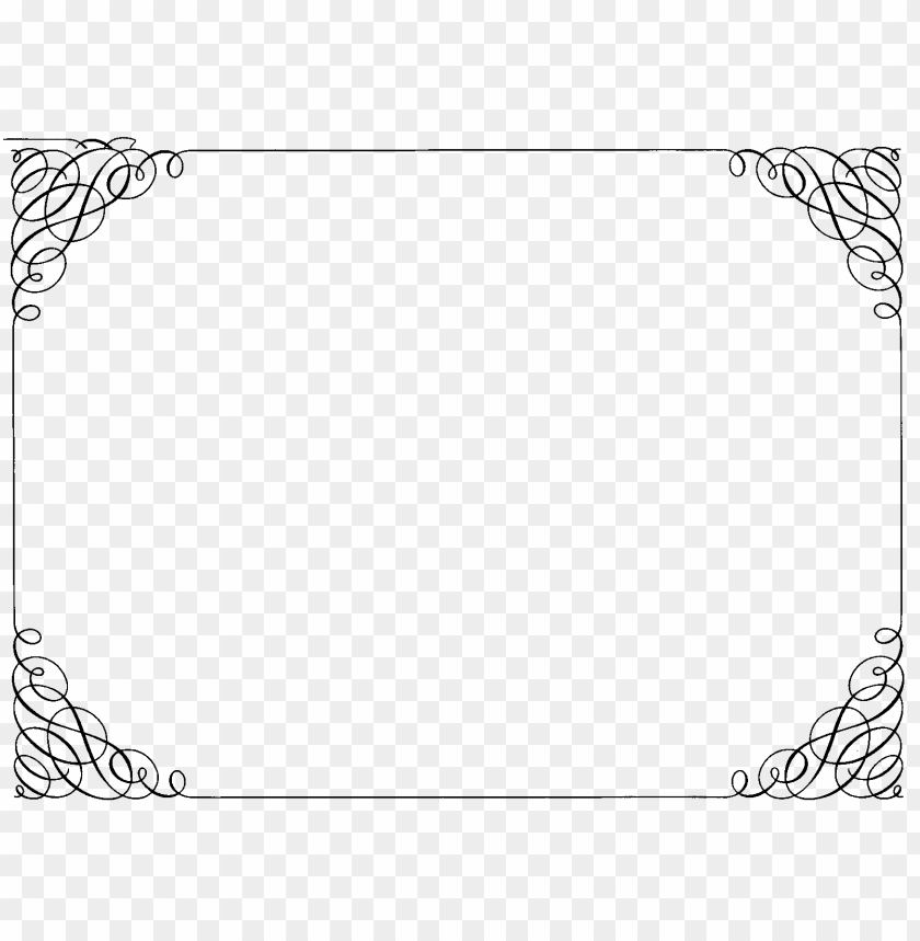 free PNG ornate curly border PNG image with transparent background PNG images transparent