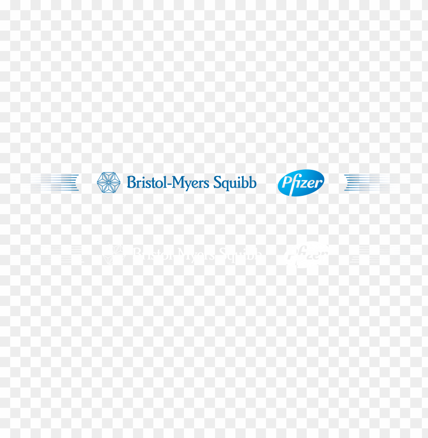 our sponsors - bms pfizer alliance logo PNG image with
