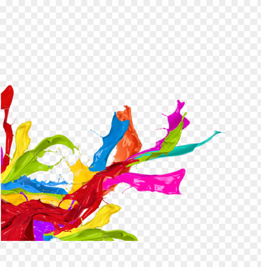 free PNG paint splatter left corner footer PNG image with transparent background PNG images transparent