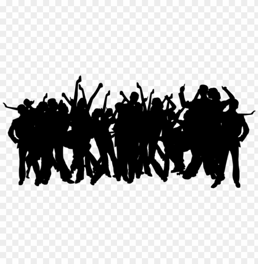free PNG party people silhouettes png png - Free PNG Images PNG images transparent