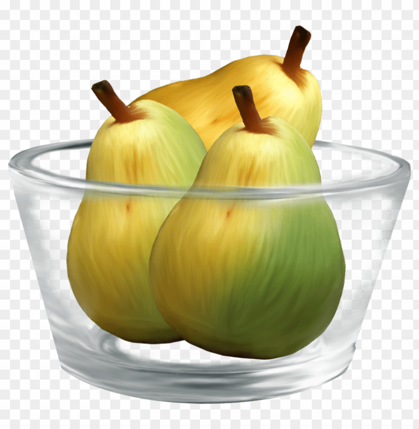 free PNG Download pears in a glass bowl clipart png photo   PNG images transparent