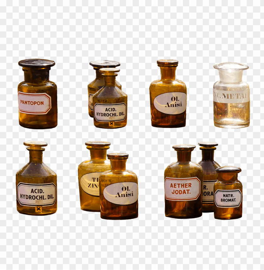 free PNG pharmacy flasks collection PNG image with transparent background PNG images transparent