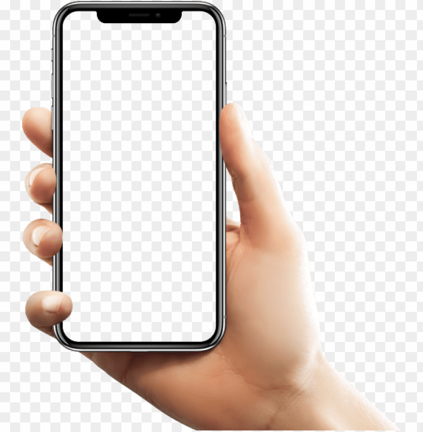 free PNG phone in hand- snapchat on iphone x png - Free PNG Images PNG images transparent