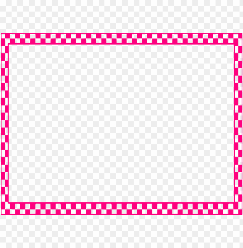 free png pink border frame png pic PNG images transparent