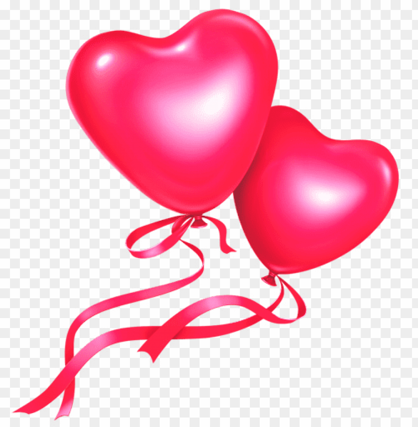 Pink Heart Balloons Png Free Png Images Toppng
