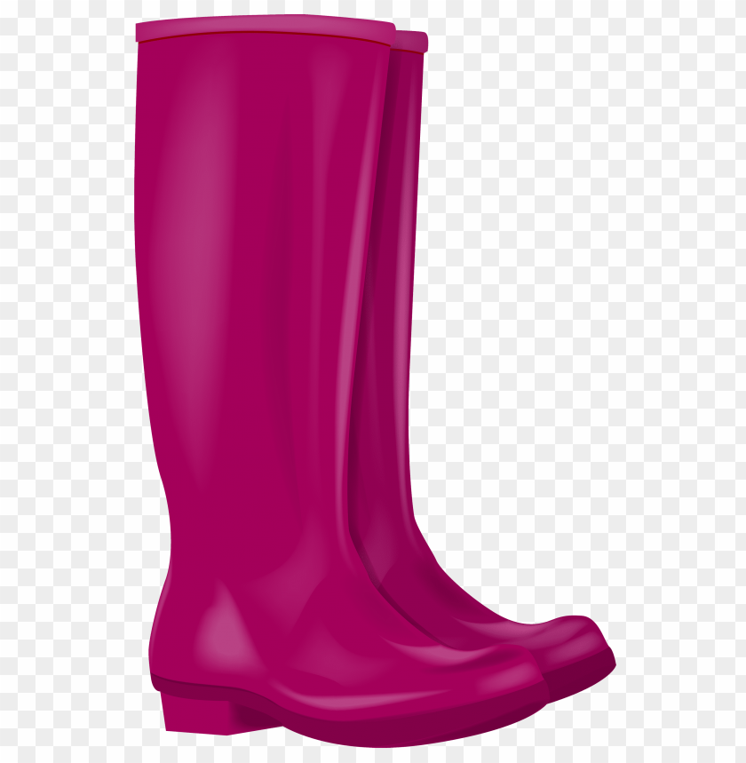 free png pink rubber boots  image PNG images transparent