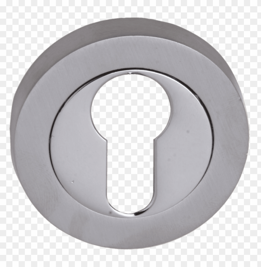free PNG polished chrome keyhole PNG image with transparent background PNG images transparent