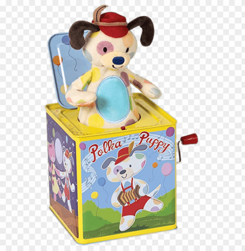 free PNG polka puppy jack in the box PNG image with transparent background PNG images transparent