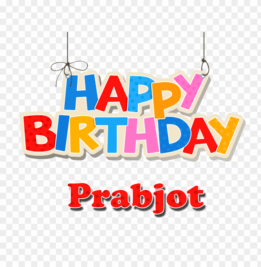 Free PNG Prabjot Happy Birthday Balloons Name Png Images Transparent