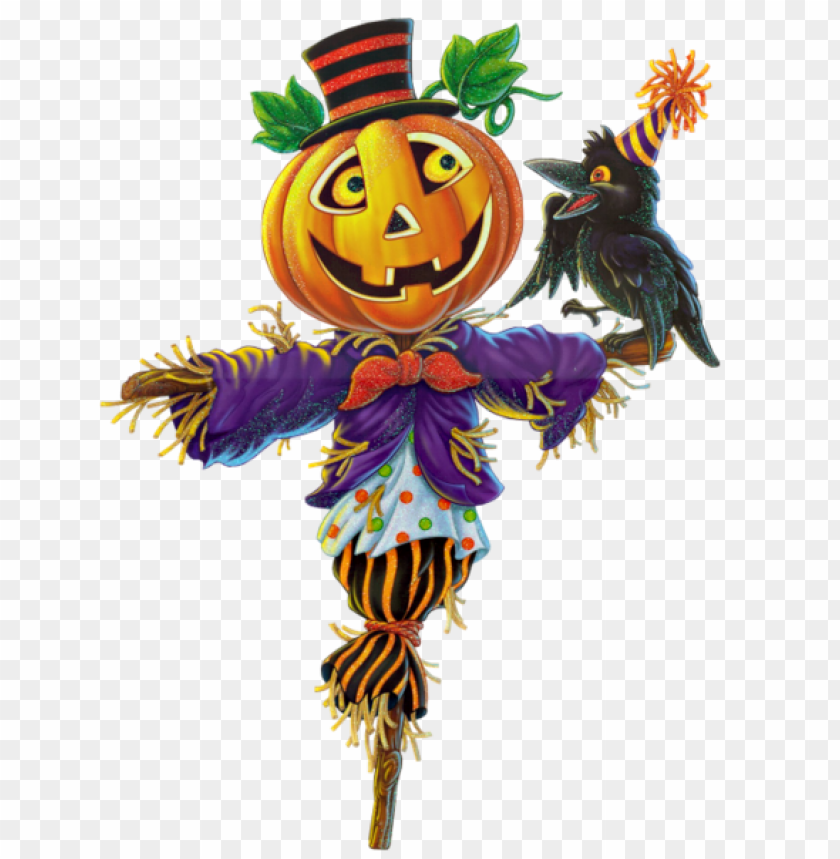 free PNG pumpkin scarecrow PNG images transparent