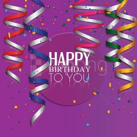 free PNG purple happy birthday background best stock photos PNG images transparent