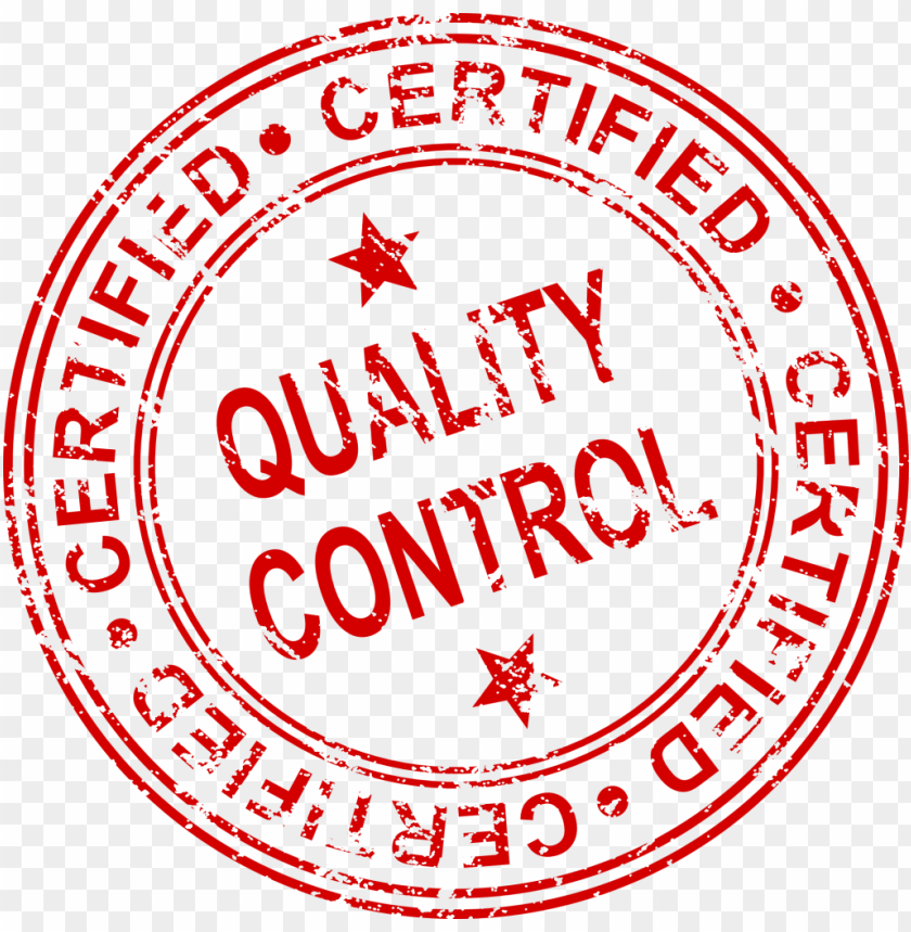 Free PNG Quality Control Certified Stamp Png