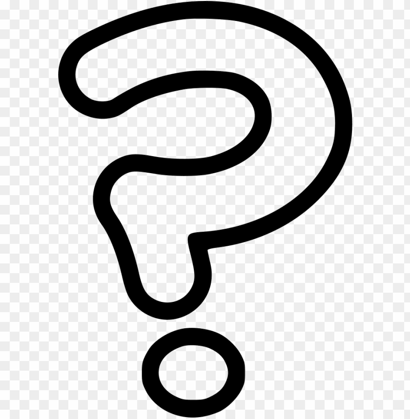 Question Marks Image With Transparent Background