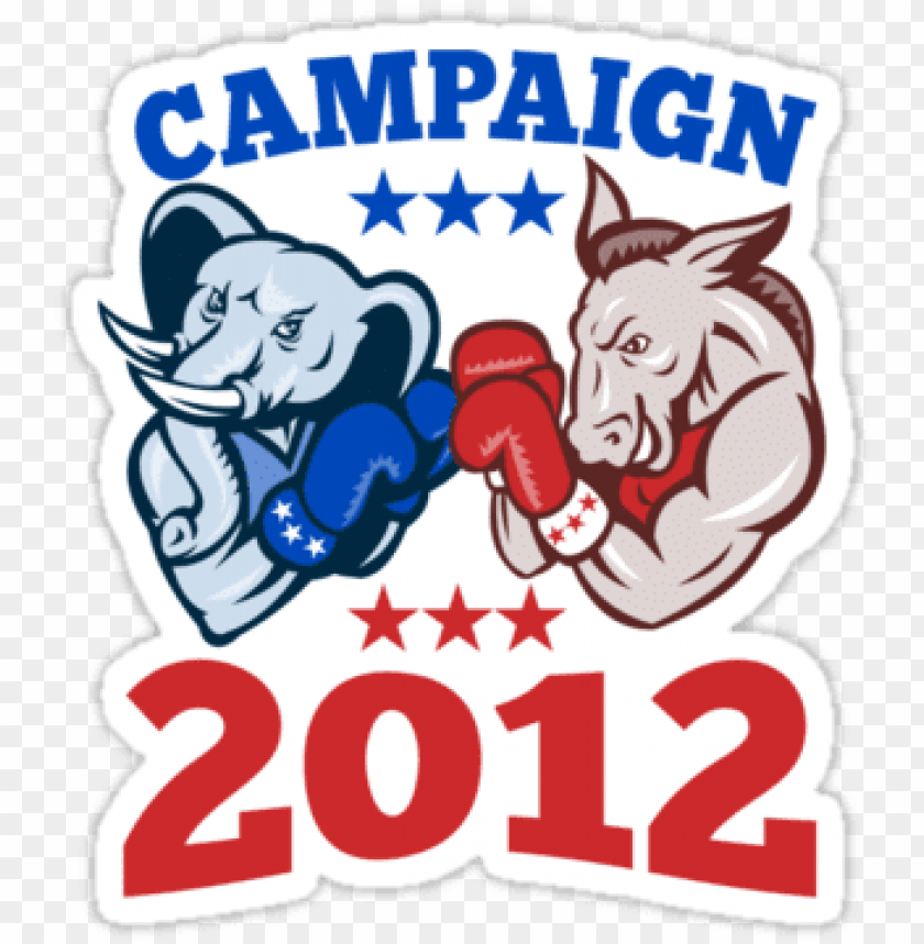 free PNG quotdemocrat donkey republican elephant campaign PNG image with transparent background PNG images transparent