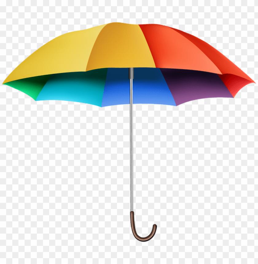 free PNG rainbow umbrella transparent PNG images transparent