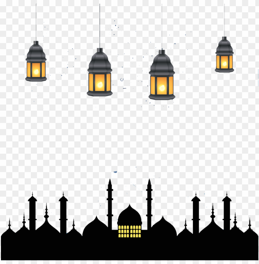 Download Ramadan Kareem Lamps Png Images Background Toppng