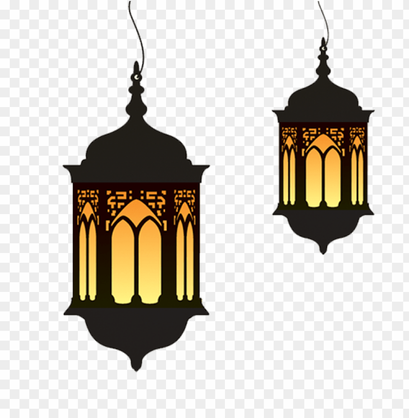 free PNG Download ramadan lamp duo png images background PNG images transparent