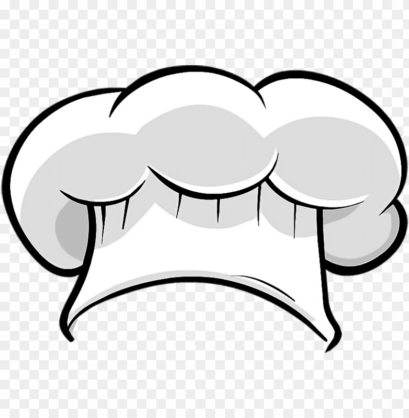 free PNG raphic black and white chef sticker by dini julia - transparent chef hat clipart PNG image with transparent background PNG images transparent