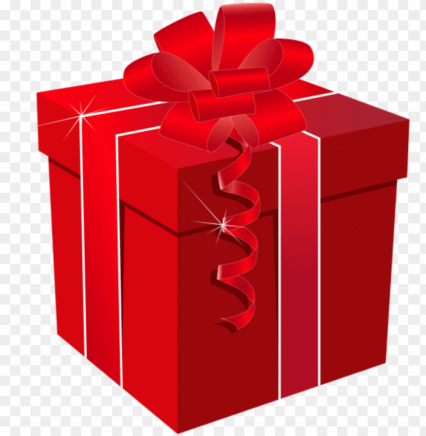 Raphic Royalty Free Present Clipart Png Red Gift Box Png Image With Transparent Background Toppng