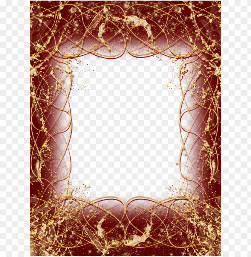 free PNG red and goldframe background best stock photos PNG images transparent