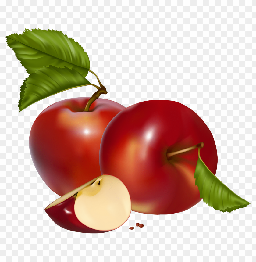 free PNG red apples PNG images transparent