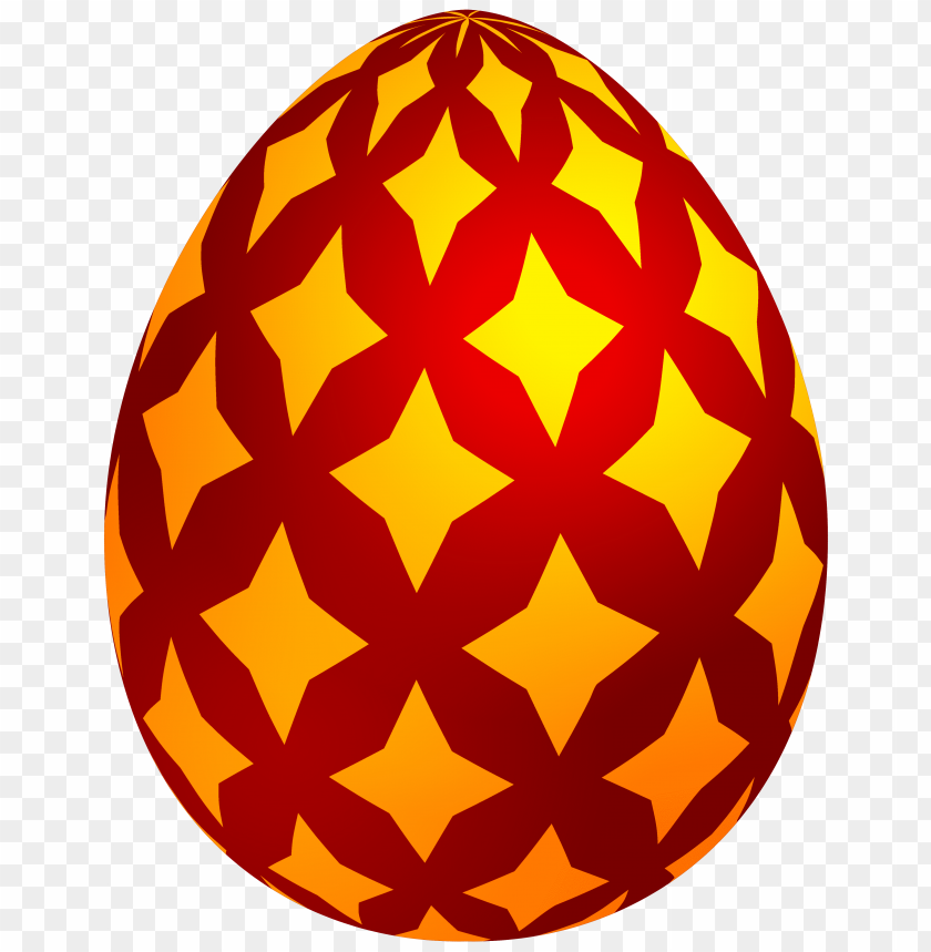free PNG Download red easter decorative egg clipart png photo   PNG images transparent