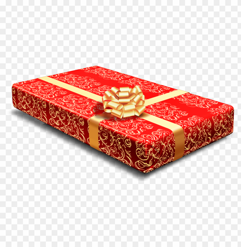 free PNG red gift PNG images transparent