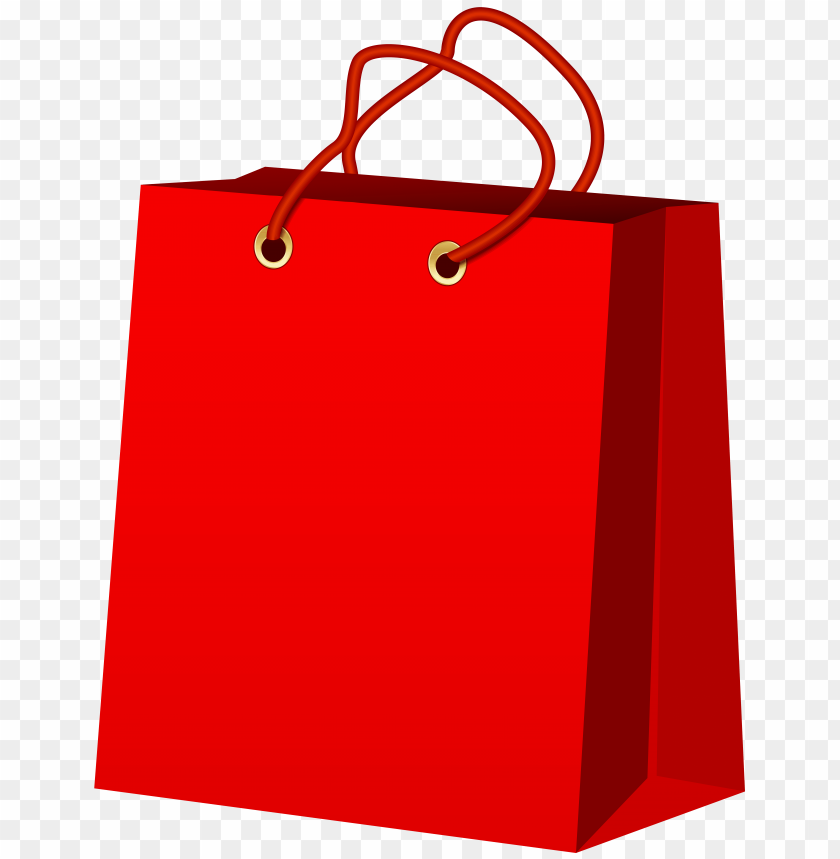 free png red gift bag PNG images transparent