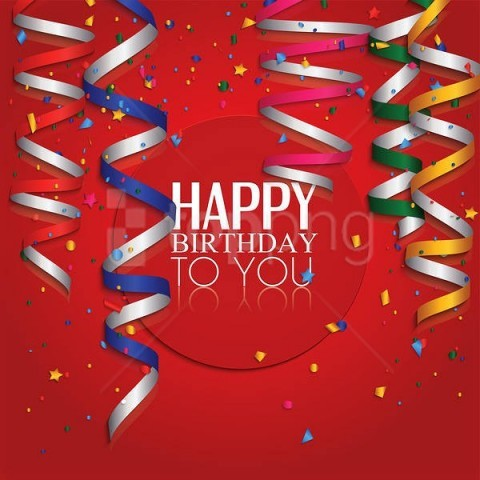 free PNG red happy birthday background best stock photos PNG images transparent