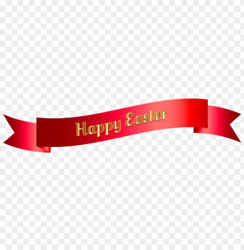 free PNG Download red happy easter banner png images background PNG images transparent