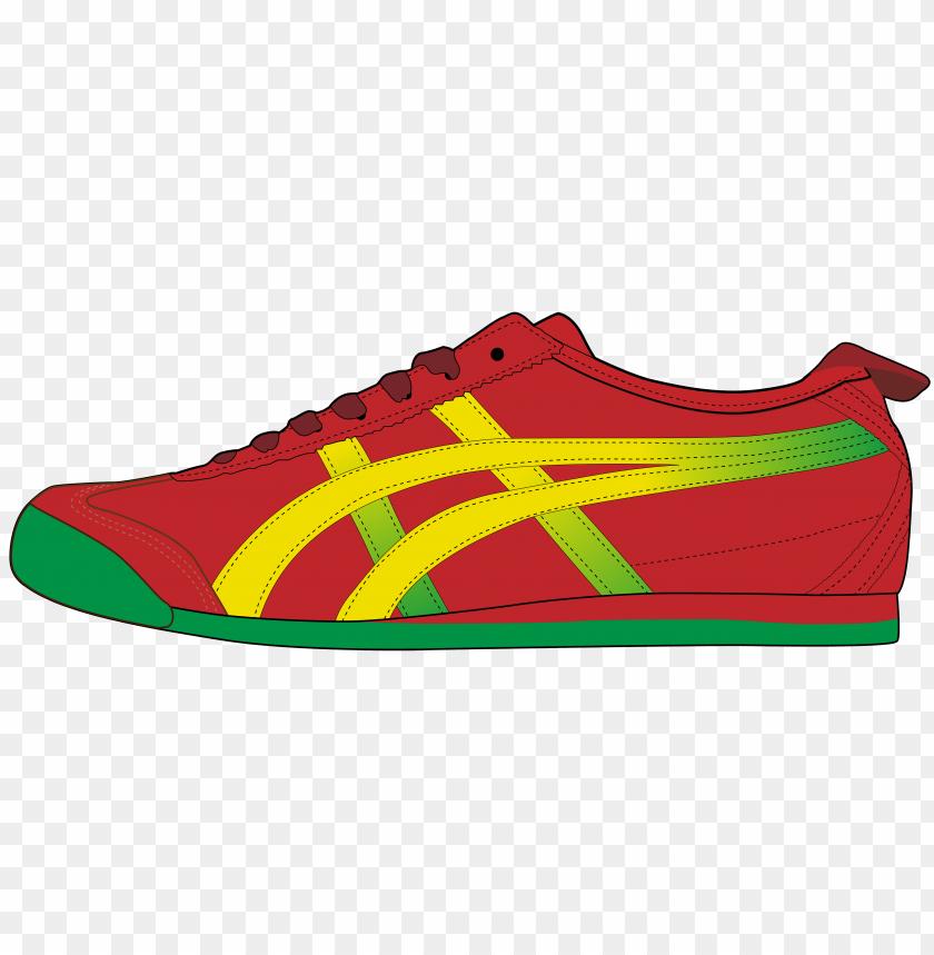 free PNG red men sport shoe PNG images transparent