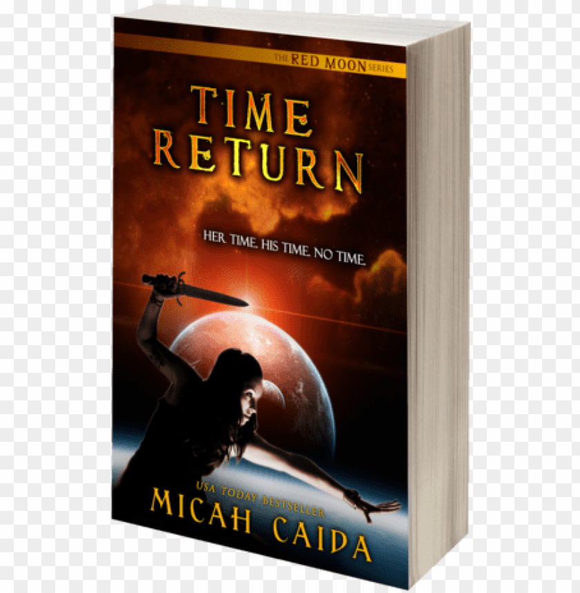 free PNG red moon ya trilogy - time return: red moon trilogy book 2 (red moon trilogy) PNG image with transparent background PNG images transparent