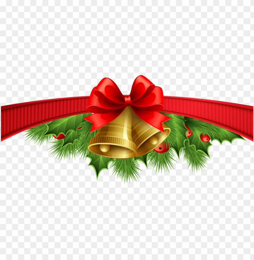 red ribbon christmas png free png images toppng