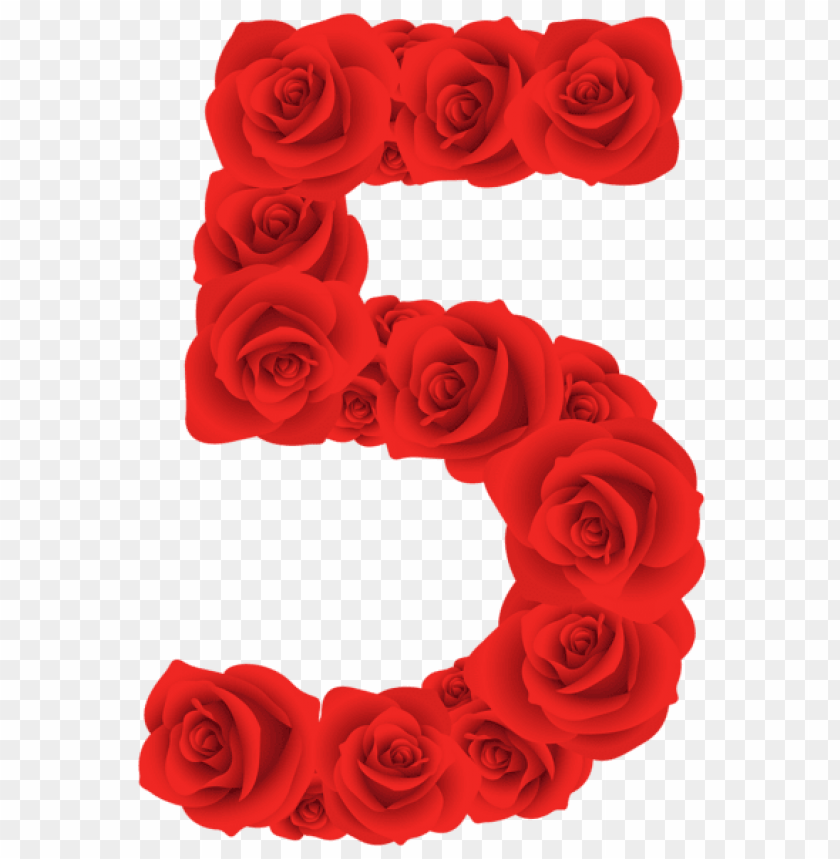 free PNG red roses five number PNG image with transparent background PNG images transparent