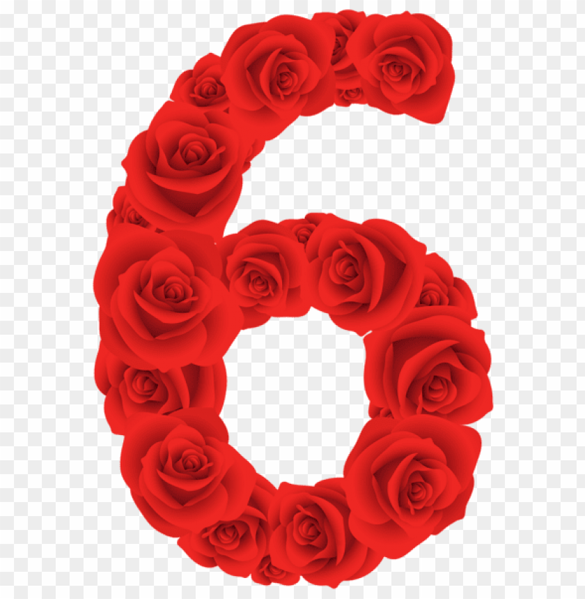 free PNG red roses six number PNG image with transparent background PNG images transparent