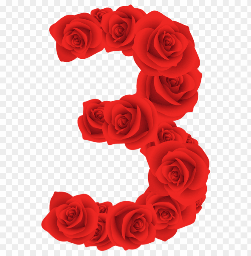 free PNG red roses three number PNG image with transparent background PNG images transparent