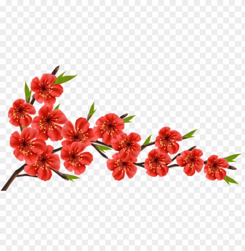 free PNG Download red spring branch png images background PNG images transparent