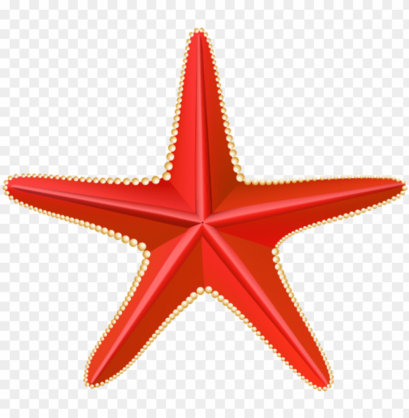 free PNG red starfish transparent PNG images transparent