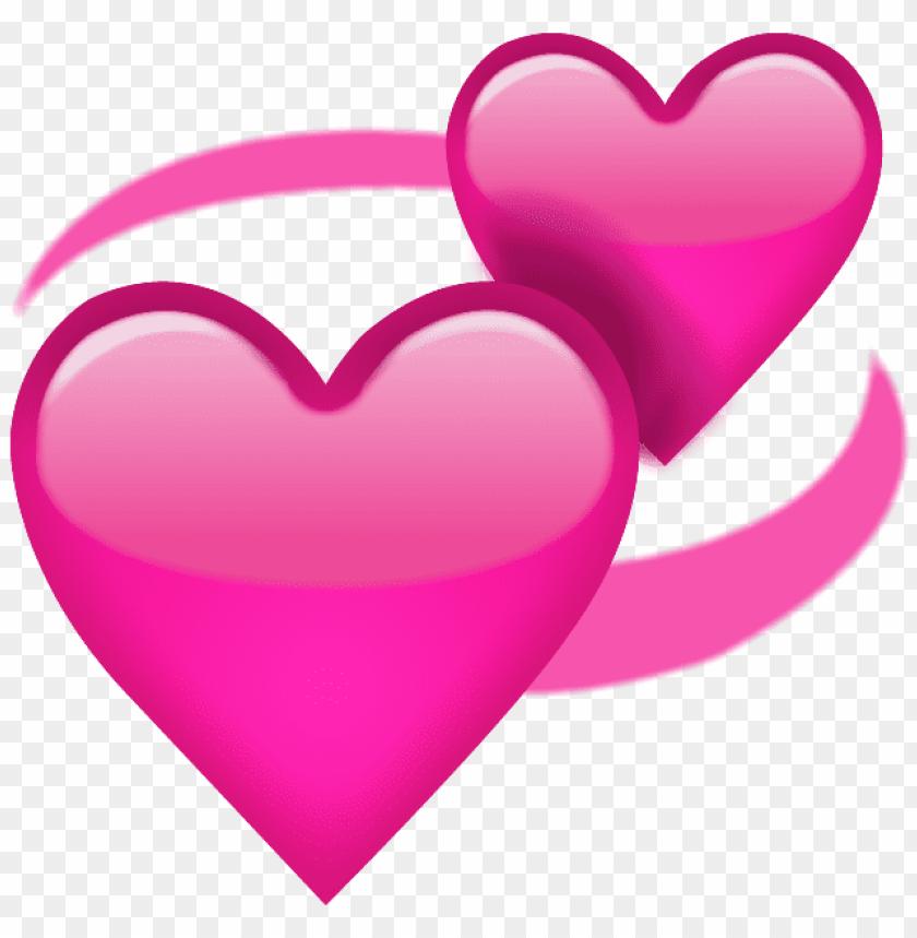 free PNG Download revolving pink hearts emoji png clipart png photo   PNG images transparent