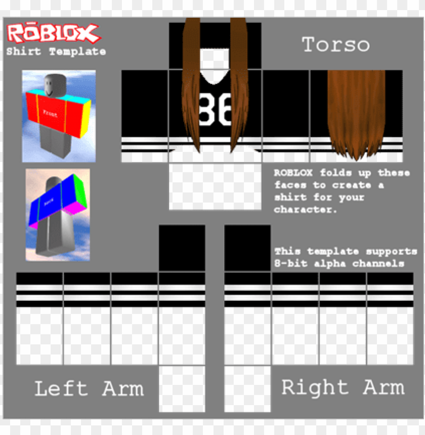 roblox tshirt png - roblox youtube shirt template PNG image