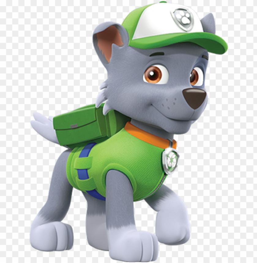 download rocky  rocky paw patrol personajes png  free