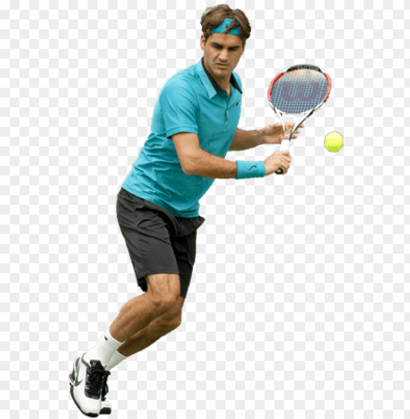 free PNG roger federer playing - tennis player no background PNG image with transparent background PNG images transparent