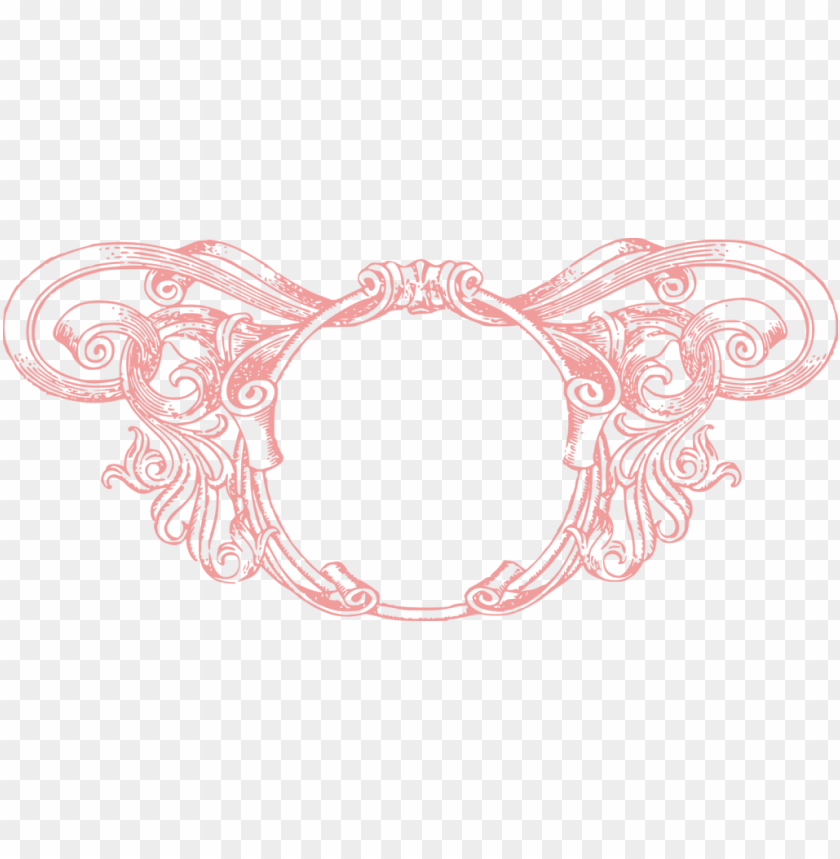 free PNG rose circle vintage frame PNG image with transparent background PNG images transparent