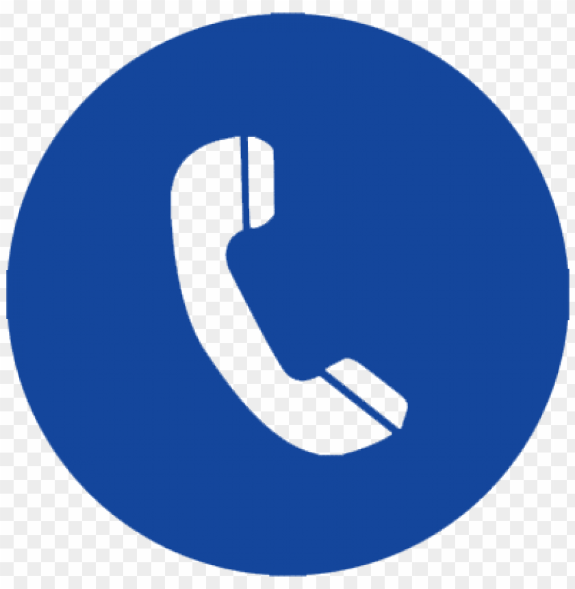 Download rubb usa - blue telephone icon png - Free PNG