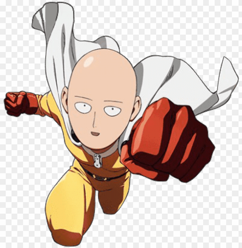 One Punch Man Saitama Lucu - Download saitama png - one punch man full body png - Free ...