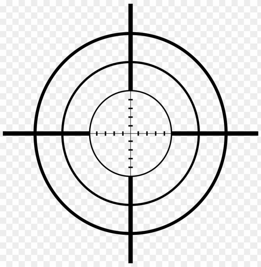 Scope Transparent Png Gun Crosshairs Png Image With Transparent
