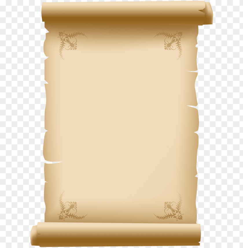 free PNG scroll paper png - old paper scroll art PNG image with transparent background PNG images transparent